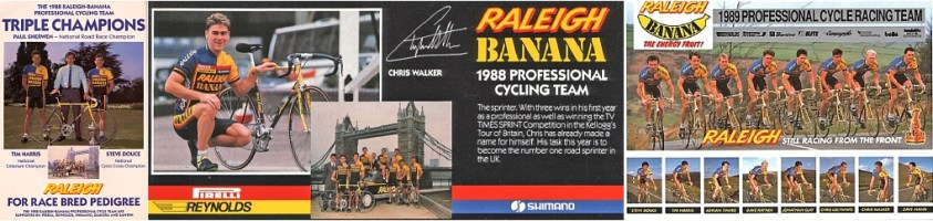 SB8945 SBDU Nottingham 753R Raleigh Banana 1988 1989 Teams