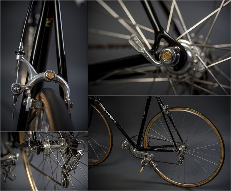 SB6398 SBDU Ilkeston Reynolds 753R Campagnolo Super Record 50th Anniversary Rear