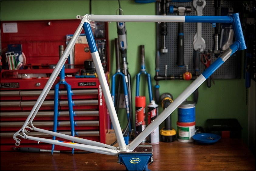 SB6560 1984 531c Services des Courses Panasonic Raleigh Frame Ready for New Bosses