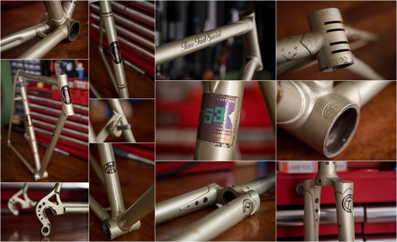 Featured Frames SB1500 1977 SBDU Ilkeston 753 Time Trial Special Frame Details