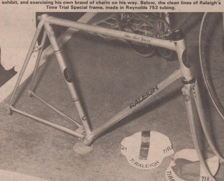 SB1500 Harrogate Cycle Show 1977