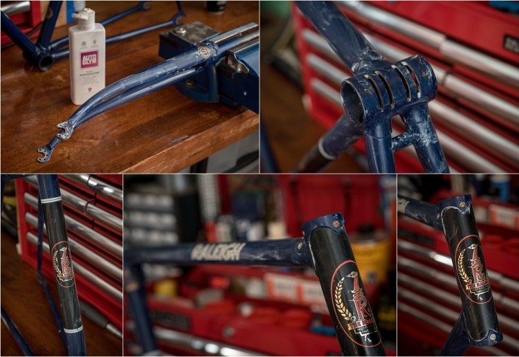 SH377T SBDU Reynolds 753 Pursuit Track Frame Paint Renovator