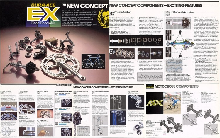 Shimano Bicycle System Components Spring 1978