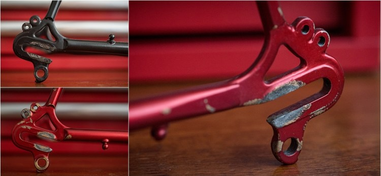 Specialist Bicycle Development Unit (SBDU) Campagnolo 1010 or 1010A With Added Eyelets