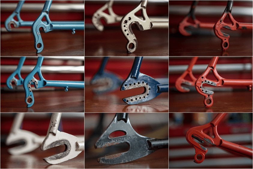 Specialist Bicycle Development Unit (SBDU) Frame Ends