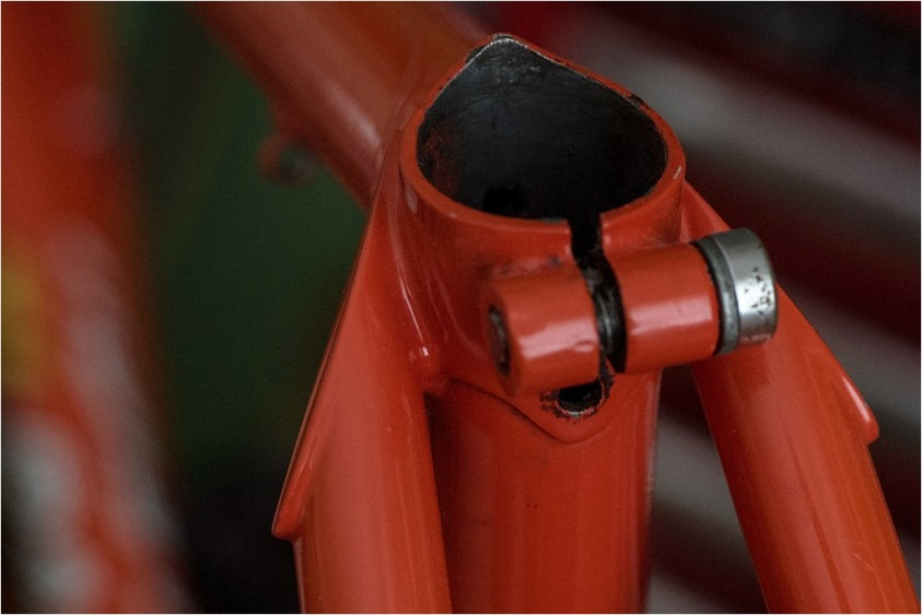 Specialist Bicycle Development Unit (SBDU) Seat Stay Design Flat and Oversize Seat Stay Caps