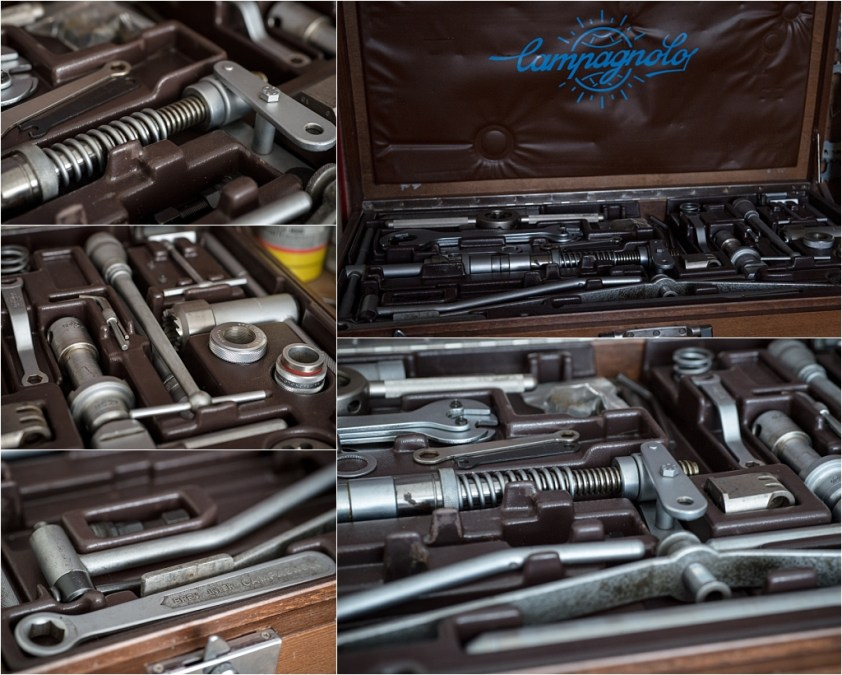 My TI-Raleigh SBDU Workshop Campagnolo Large Wooden Toolbox