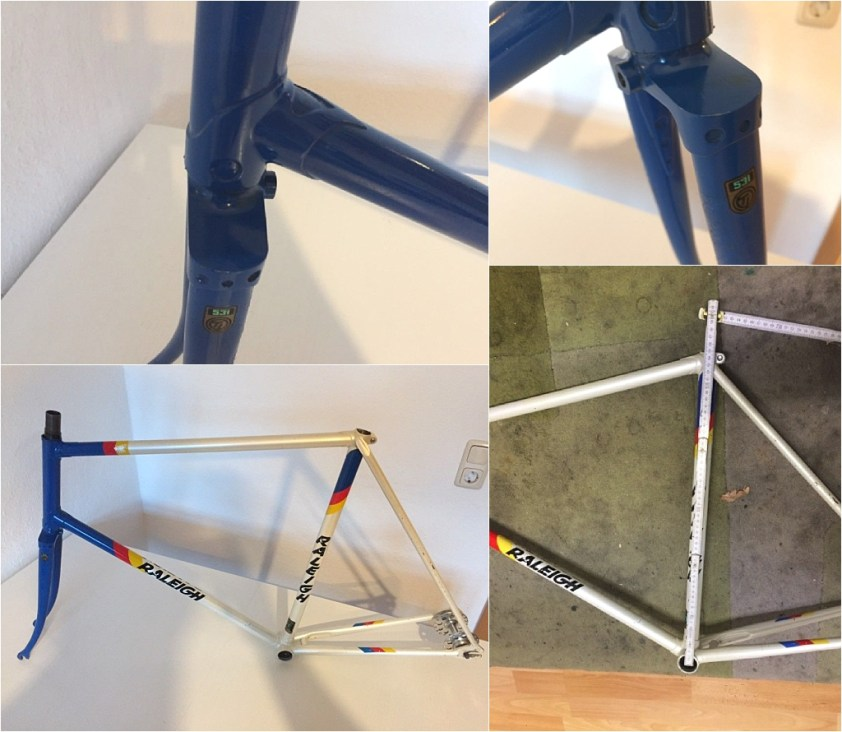 Motor Paced Stayer Frame Extra Detail Advert Images