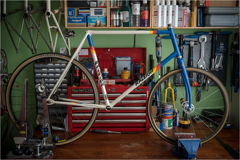 Motor Paced Stayer Frame