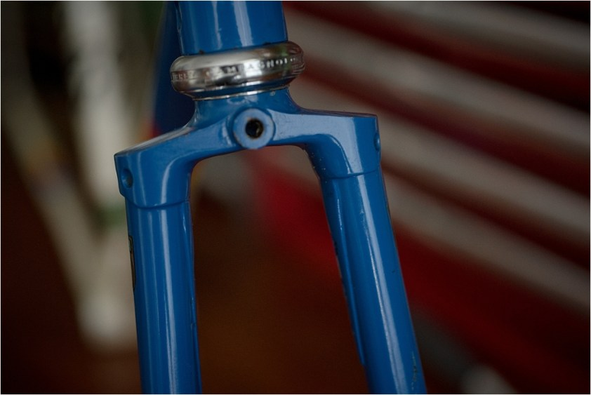 Motor Paced Stayer Frameset Fork Crown Style
