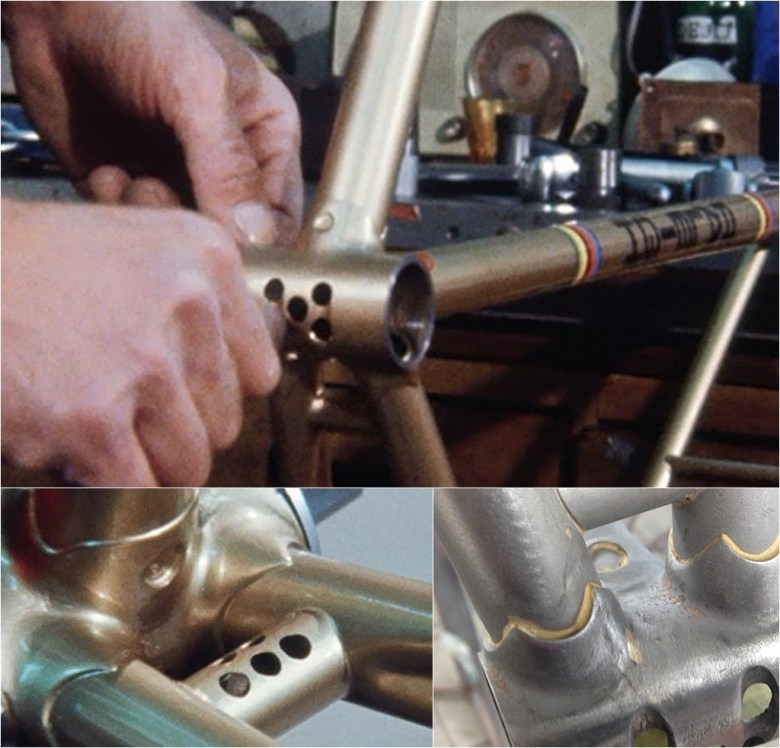 Motor Paced Stayer Jan le Grand Rene Pijnen BB Socket Drilling Details