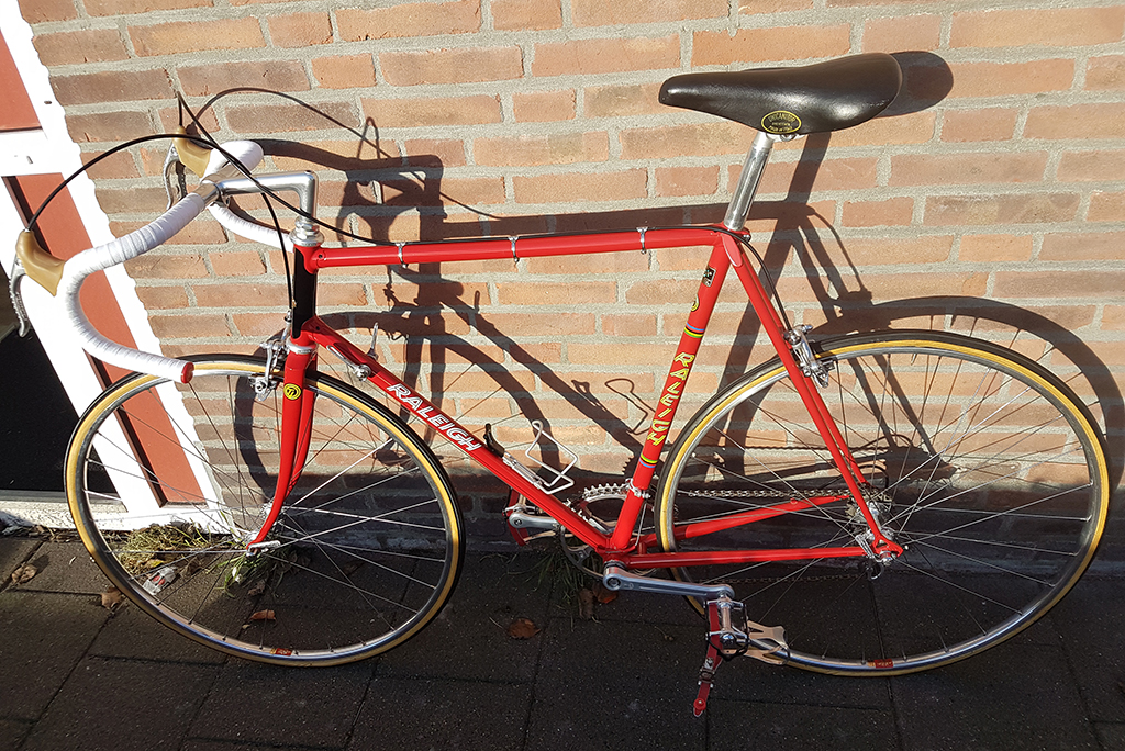 Roy Schuiten 1975 GP Lugano and Grand Prix des Nations Bike Restored