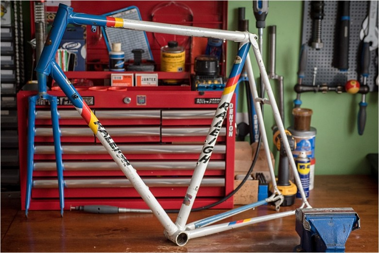 SBDU 2019 Review TI-Raleigh Team Cees Priem CP179 Reynolds 753 Road Frame and Fork Blog Post Header