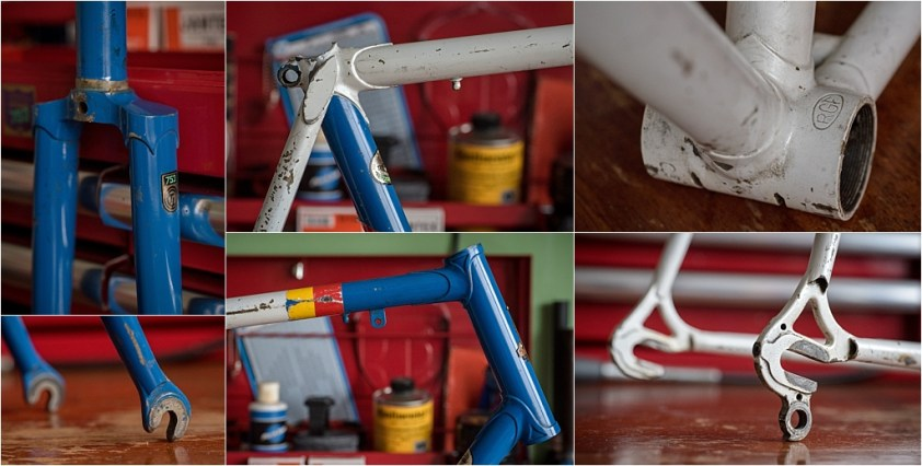 TI-Raleigh Team Cees Priem CP179 Reynolds 753 Road Frame and Fork Features