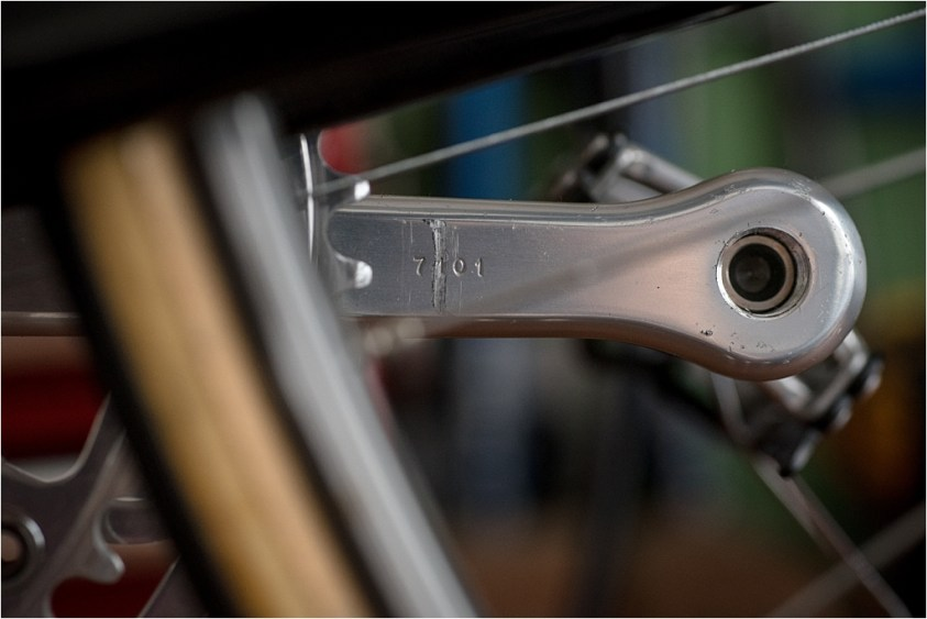 Raleigh SBDU Ilkeston TI-Reynolds 753 Campagnolo Super Record 50th Anniversary Groupset Number