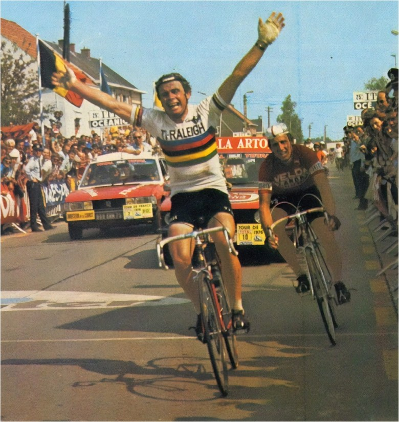 Hennie Kuiper 1976 TDF Winning Stage 4