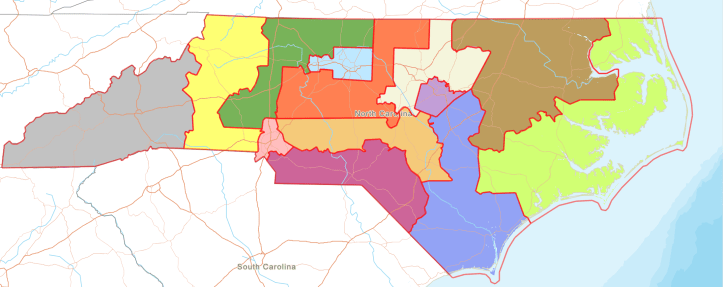 2020 n.c. congressional map