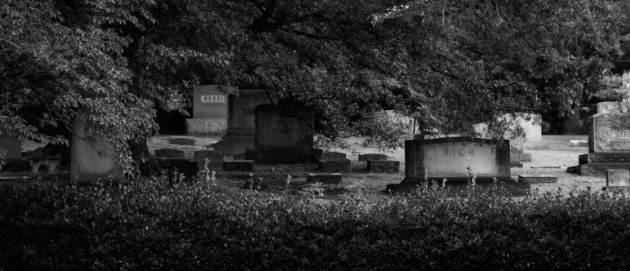 oakwood cemetery dark
