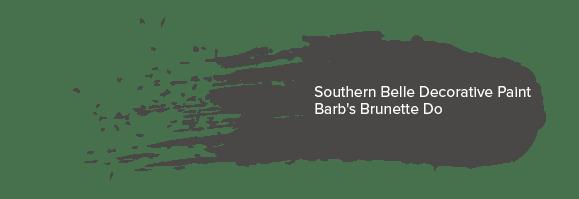 Southern Belle Decorative Paint - Barb's Brunette Do