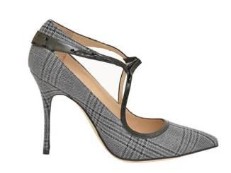 Plaid shoe