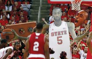 NC State basketball game