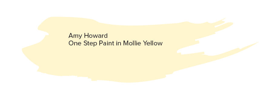 Amy Howard One Step Paint in Mollie Yellow