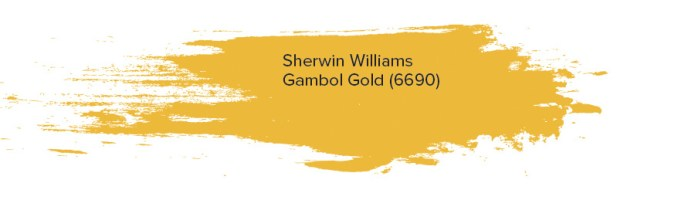 Sherwin Williams Gambol Gold