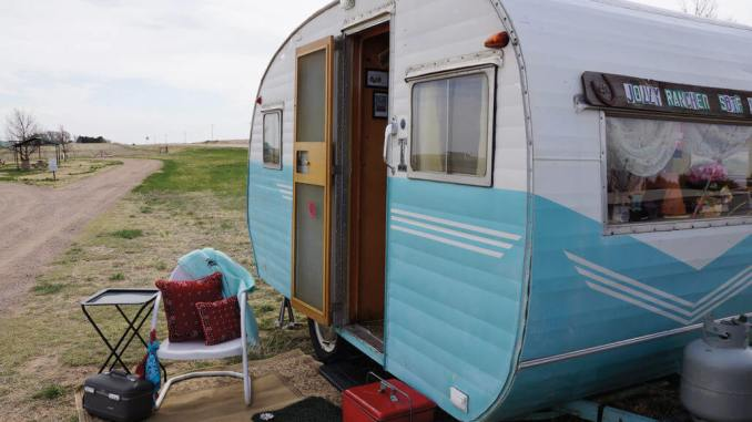The Jolly Rancher Vintage Camper