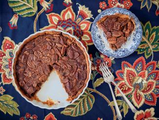 Cane Syrup Pecan Pie