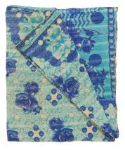 Kantha cotton quilt
