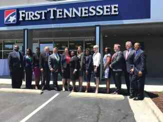 The outside of First Tennessee Bank