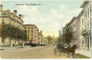 Postcard of Fayetteville Street