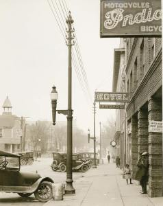 A 1926 photo of Hargett Street