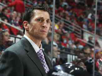 Carolina Hurricanes' head coach Rod Brind'Amour