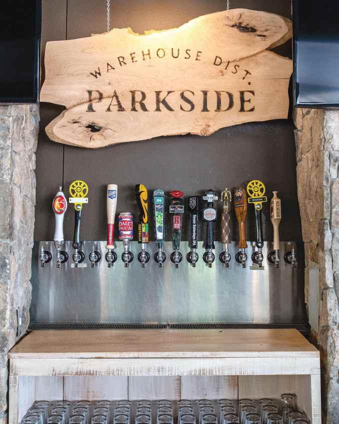 Parkside beer tap