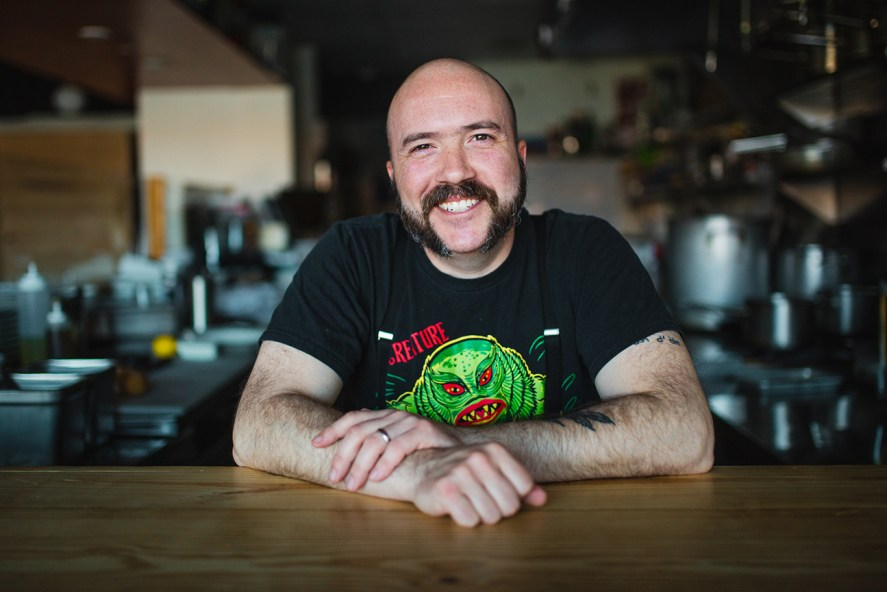 Chef Tom Cuomo of Papa Shogun