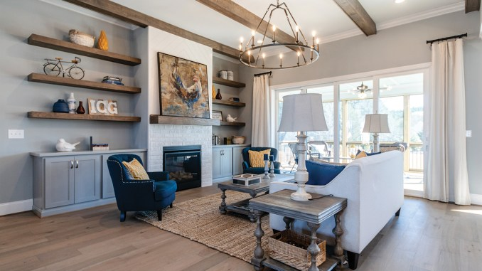 Perry Farms, Wake Forest, built by ICG Homes.