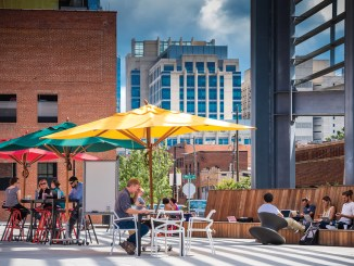 Union Station Plaza's Outdoor Office 2.0