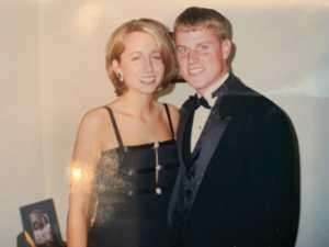 Marc Primanti with girlfriend (now wife) Julie (Sherrill) Primanti