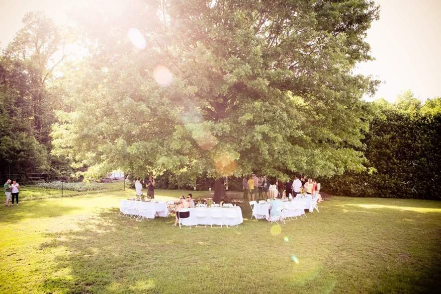 Under the Oak Farm; Photo by Felicia Perry Photograpy