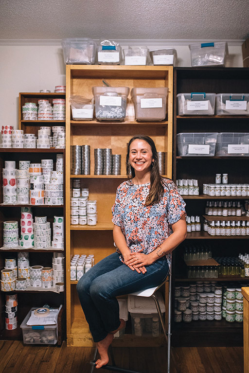 Elisabeth Chadbourne, Founder of Lo & Behold Naturals | Photo by Three Region NC