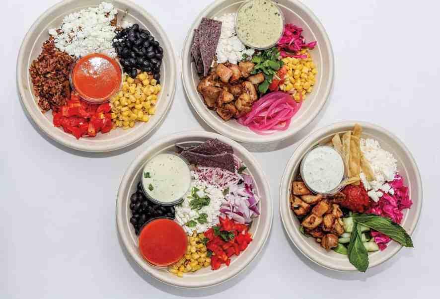 Happy + Hale signature salads