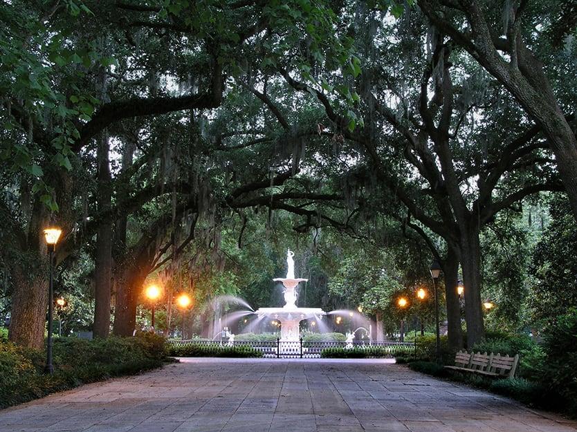 Savannah: Forsyth Park