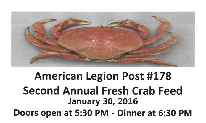 American legion crab feed, blog provided by Ralene Nelson, Rio Vista Realtor