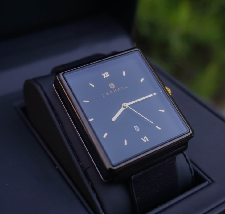 Lecharl Watch Born 1929 Black, rale popic