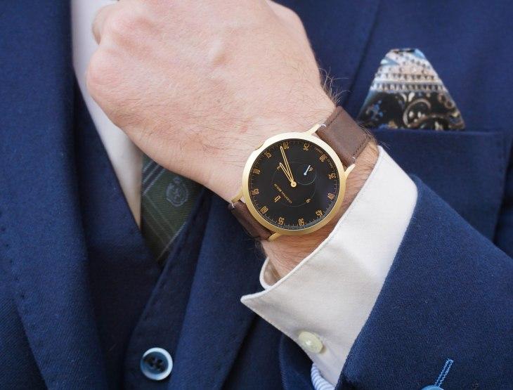 Rale Popic, Jiggler Lord Berlue, Calvin Klein, Ralph Lauren, Massimo Dutti, Tom Ford, LilienthalBerlin watch