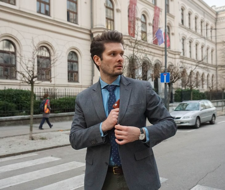 Rale Popic, Henrylondon watch, massimo dutti, oppermann