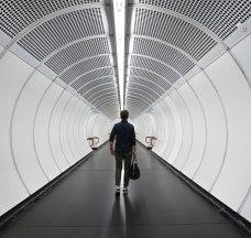Underground station, Vienna