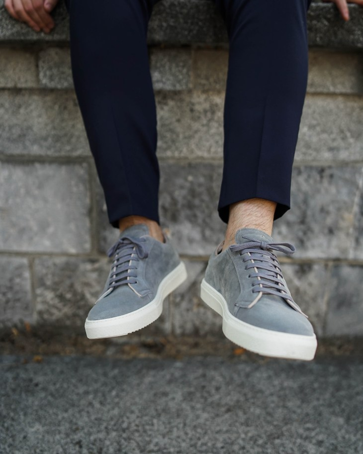 The gent style blogger, rale popic, sneakers, skolyx, suede sneakers
