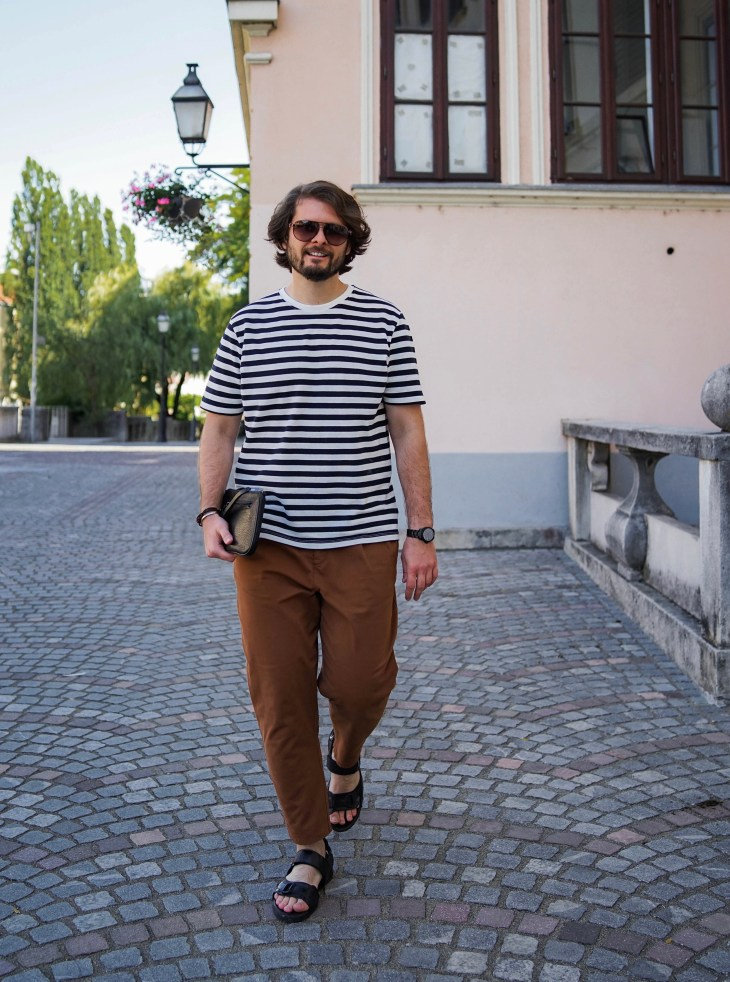 the gent style blogger, Rale Popic, 80's chino trousers, summer style